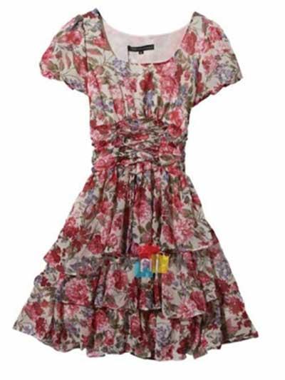 dicas de vestidos floridos