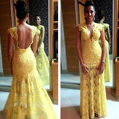 dicas de vestidos amarelos