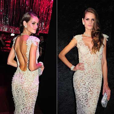 vestidos transparentes da moda