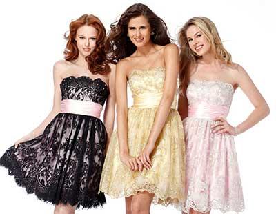 três lindos modelos