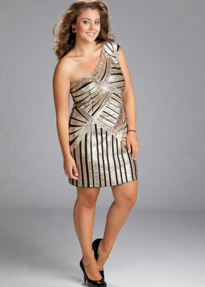 tendências de vestidos plus size