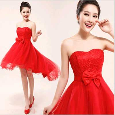 modelos de vestidos de formatura vermelhos