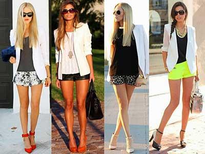 dicas de shorts femininos