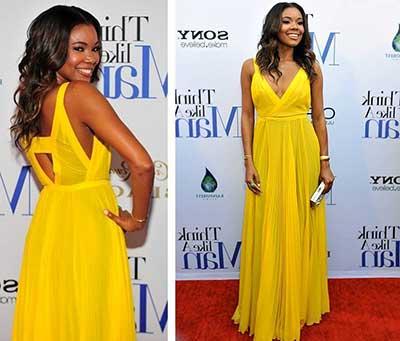 vestidos amarelos
