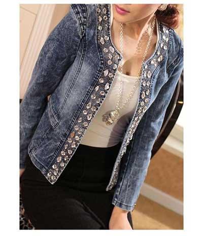 imagens de jaquetas jeans