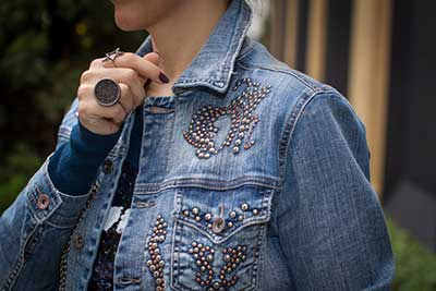 tendências de jaquetas jeans
