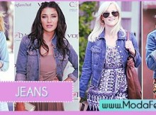 modelos de jaquetas jeans