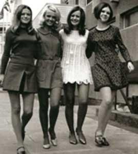 imagens da moda anos 60