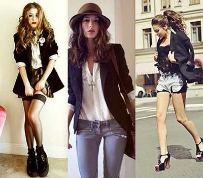 combinações da moda