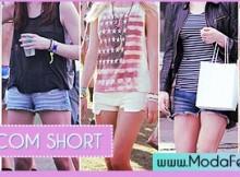 dicas de looks com short