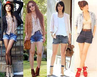 looks com shorts para o inverno