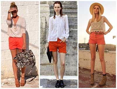 looks com shorts da moda