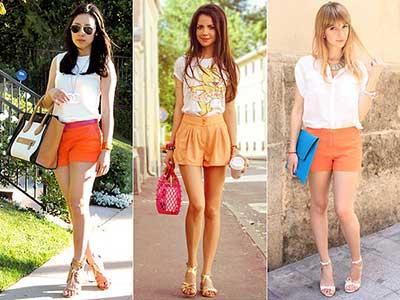 looks com shorts para o verão