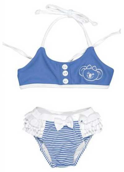 0a86c7c77 35 Modelos de Biquínis Infantis Femininos para Crianças