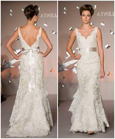 Fotos de Vestido de Noiva de Renda