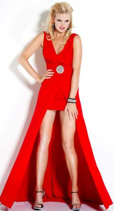 dicas de vestidos vermelhos de formatura
