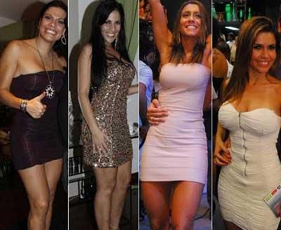 fotos de vestidos justos