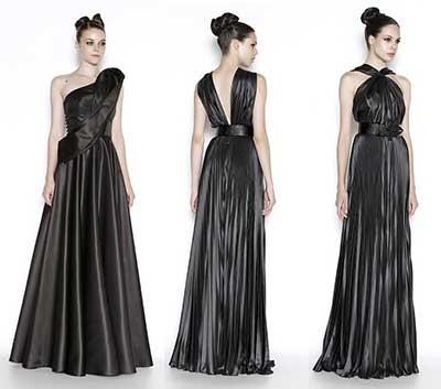 tendências de vestidos elegantes