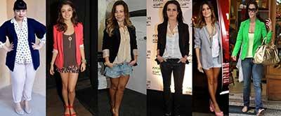 modelos de blazers