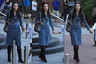vestidos de jeans