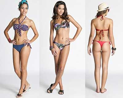 tendências de biquínis da moda