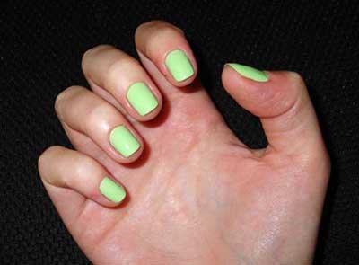 cor verde claro