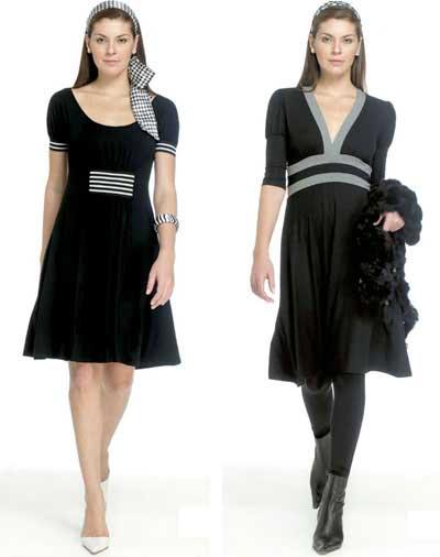 tendências de vestidos sociais