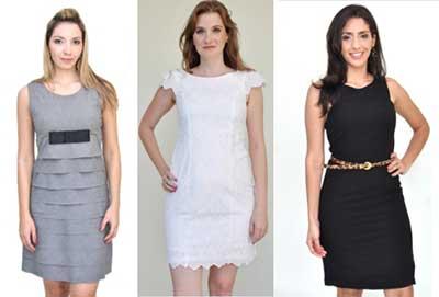 modelos de vestidos para trabalhar