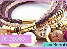modelos de pulseiras de couro
