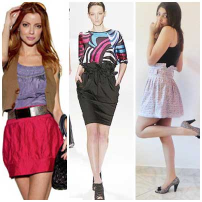 fotos de modelos de saias de tecido