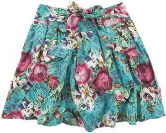 modelos de saias estampadas