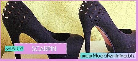 modelos de sapatos scarpins