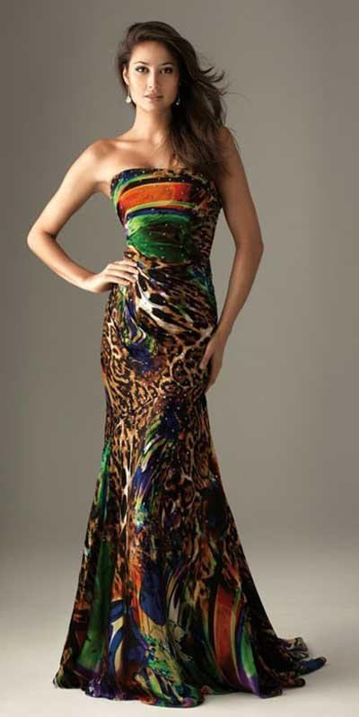 imagens de vestidos com estampas