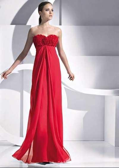 modelos de vestidos para madrinhas vermelhos