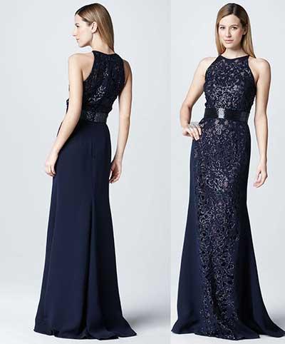 vestidos de marca vestido escuro azul royal evening festa vestidos