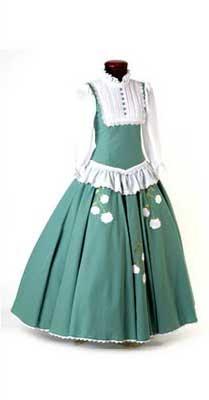 vestido da moda do rio grande do sul