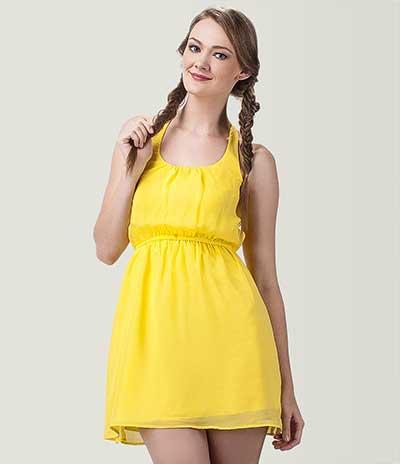 vestidos amarelos da moda