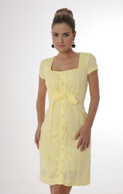 Vestidos Amarelos Claro Para Formatura