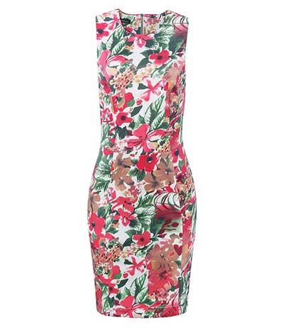 vestidos estampados da moda
