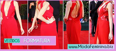 modelos vermelhos de vestidos para formatura
