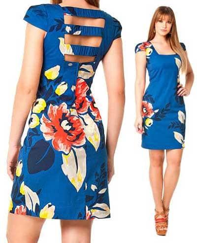 tendências de vestidos tubinhos