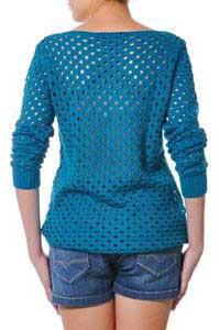 blusas de trico da moda feminina