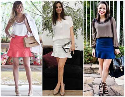 fotos e modelos de saias femininas