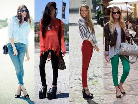 modelos de calças femininas