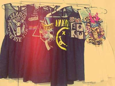 roupas jovens