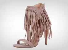sapatos com franja