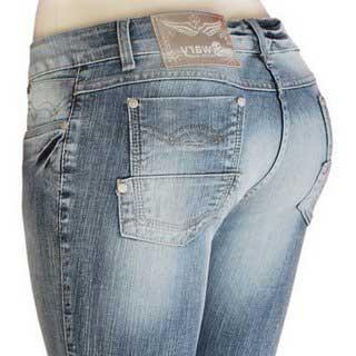calças sawary da moda