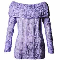 imagens de modelos de blusas de trico