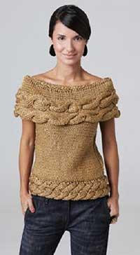 modelos de blusas de trico