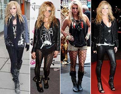 looks para mulheres do rock